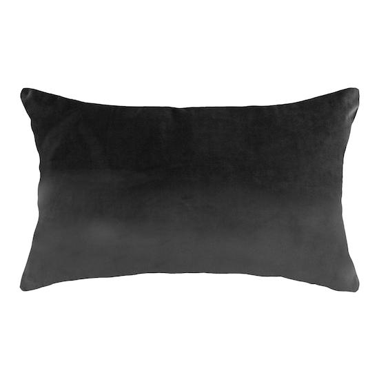 HipVan Bundles - Alyssa Velvet Lumbar Cushion - Grey
