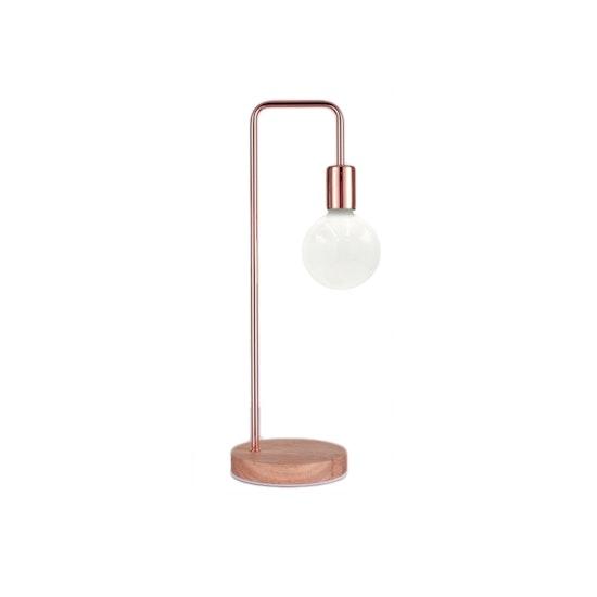 Rosa oro oro table lamp copper hipvan oro table lamp copper mozeypictures Gallery