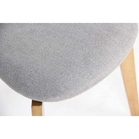 Shape - Harold Dining Chair - Natural, Grey