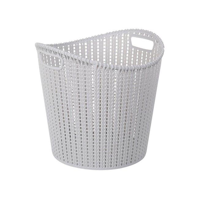 Alice Laundry Basket - Grey - 0