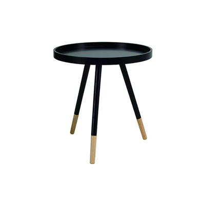 Innis Coffee Table - Black, Natural - Image 1