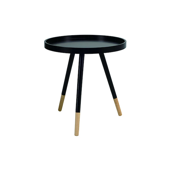 Laholm - Innis Coffee Table - Black, Natural
