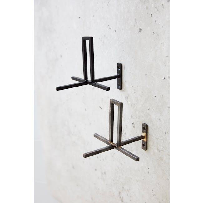 Cross Toilet Paper Holder - Iron (Set of 2) - 1