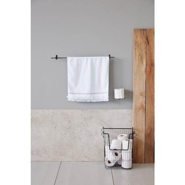 Cross Toilet Paper Holder - Iron (Set of 2) - 3