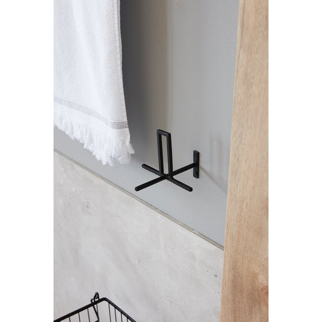 Cross Toilet Paper Holder - Iron (Set of 2) - 2