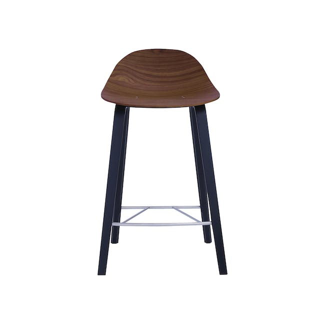 Stacy Counter Chair - Walnut - 0