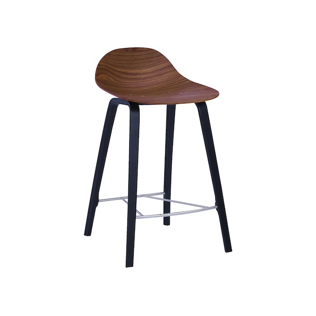 Stacy Counter Chair - Walnut - 1