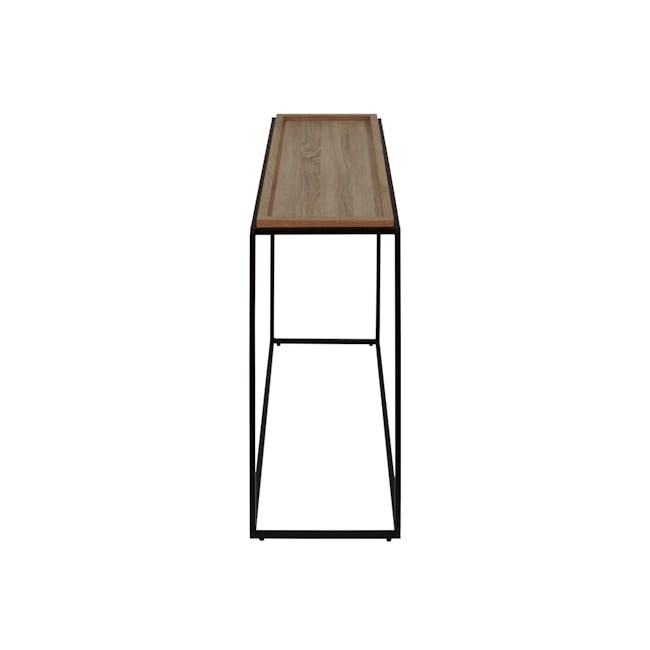 Dana Console Table 1.1m - Walnut - 3