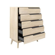 San Francisco 5 Drawer Chest