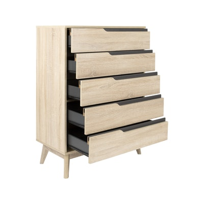 Parker 5 Drawer Chest - Image 2