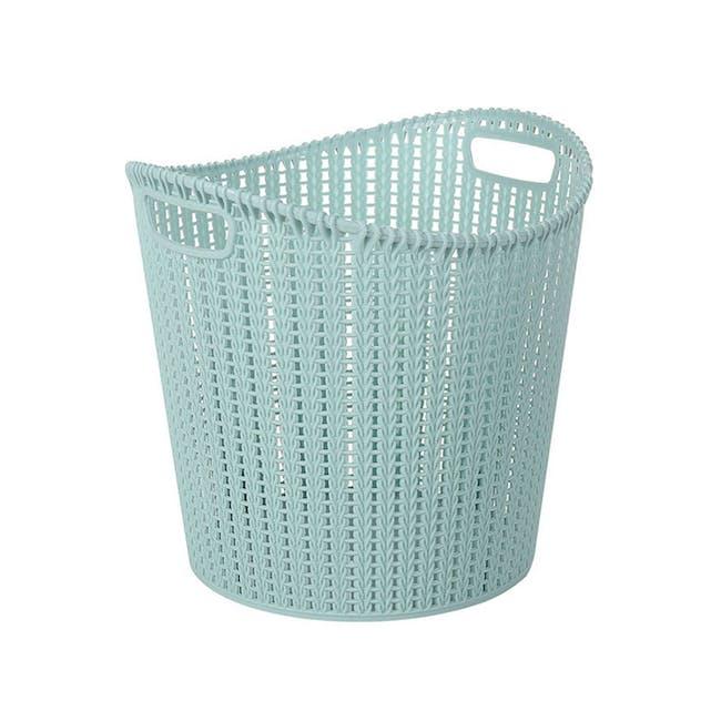Alice Laundry Basket - Blue - 0
