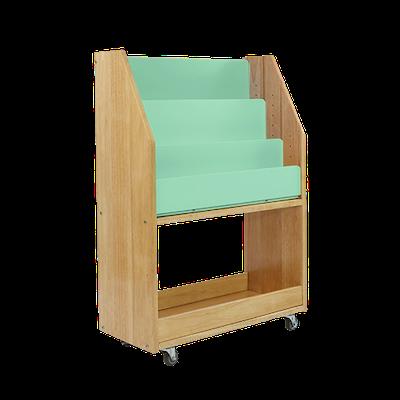 Julian Bookshelves - Natural, Candy Mint - Image 2