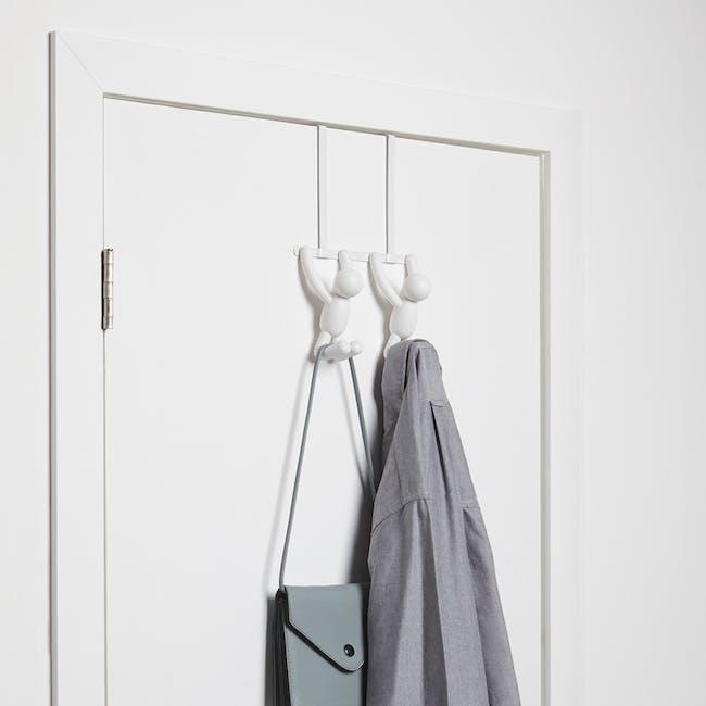 Buddy over-the-door Hook - White - 1