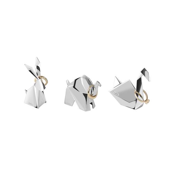 Umbra - Origami Swan Ring Holder - Chrome