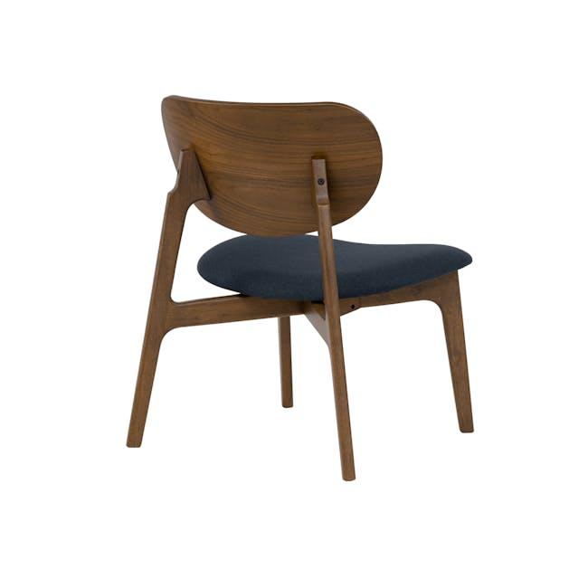 Aleta Lounge Chair - Navy - 3