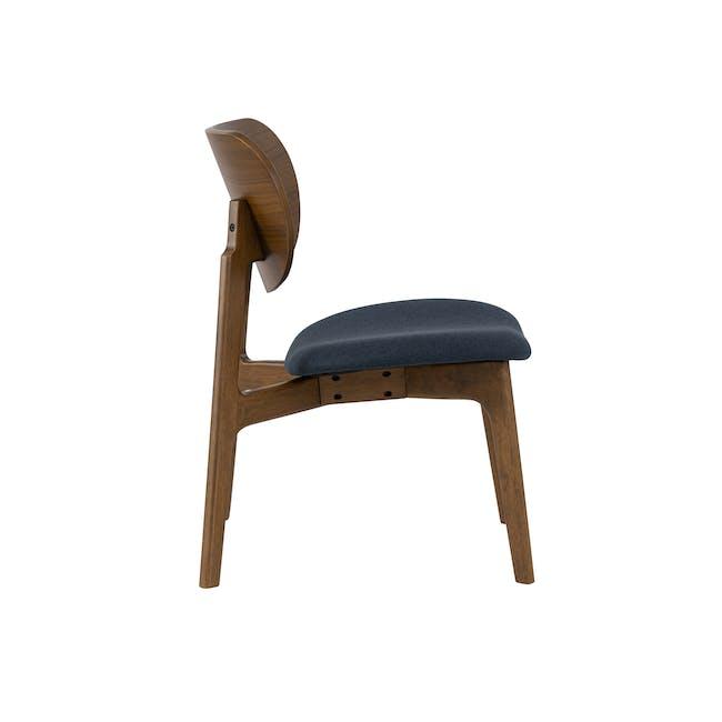 Aleta Lounge Chair - Navy - 2