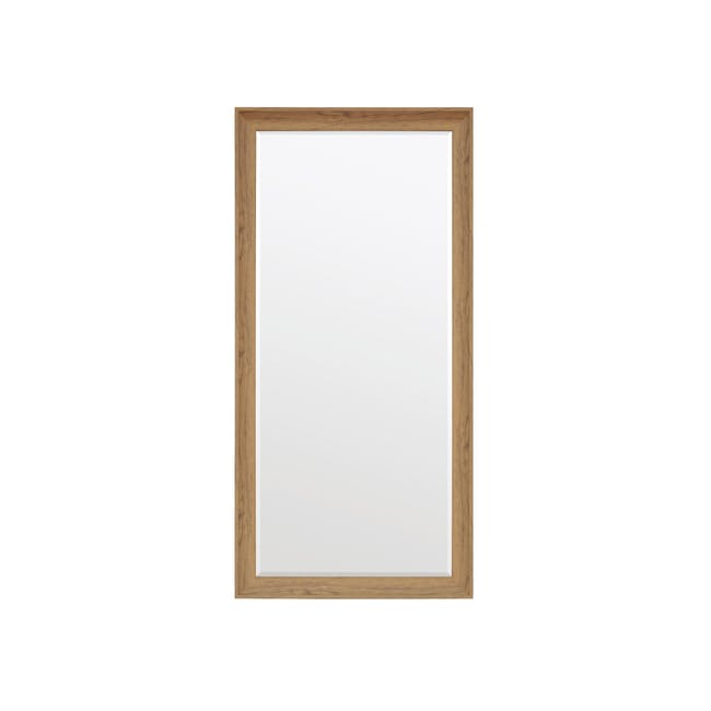 Scarlett Full-Length Mirror 70 x 170 cm - Oak - 0