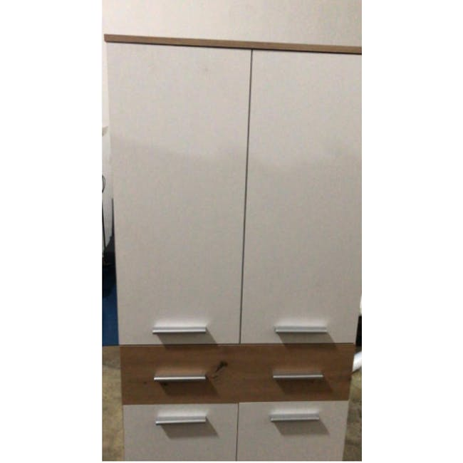 (As-is) Verona Tall Shoe Cabinet - 1 - 2