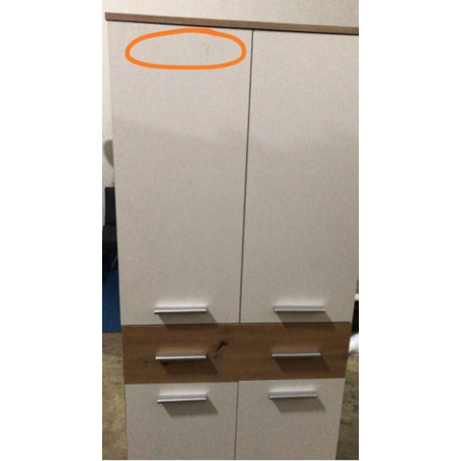 (As-is) Verona Tall Shoe Cabinet - 1 - 4