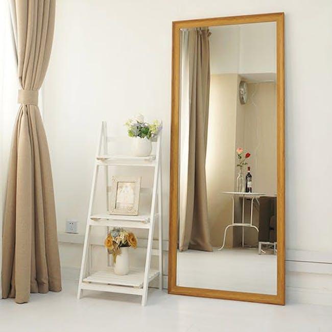 Scarlett Full-Length Mirror 70 x 170 cm - Oak - 1