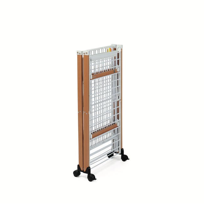 Foppapedretti Gulliver Foldable Wooden Clothes Airer - 3