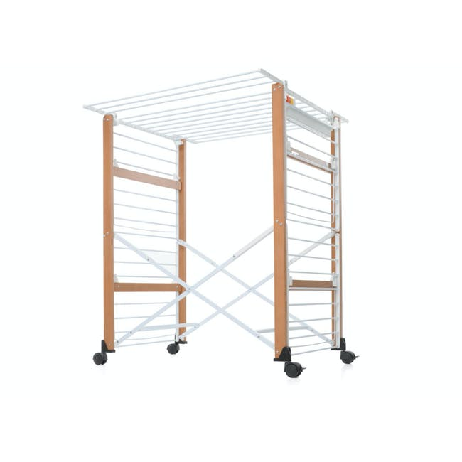 Foppapedretti Gulliver Foldable Wooden Clothes Airer - 2
