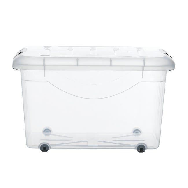 30L Motif Storage Box with Wheels - 1