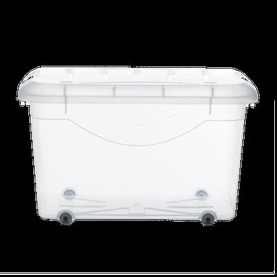 30L Motif Storage Box with Wheels - Image 2