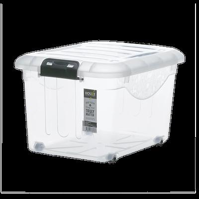 30L Motif Storage Box with Wheels - Image 1
