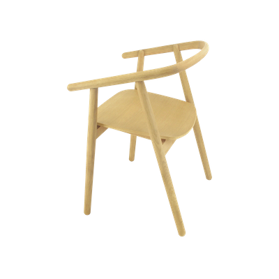Glen Dining Chair - Oak - Image 2