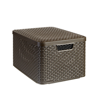 Style Box V2 + Lid - Dark Brown - Image 1