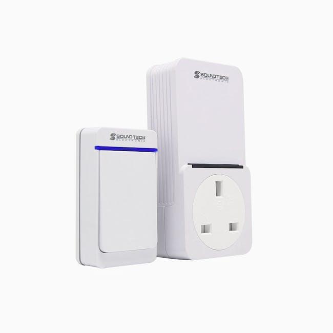 SOUNDTEOH 2 IN 1 Wireless Digital Doorbell - 1