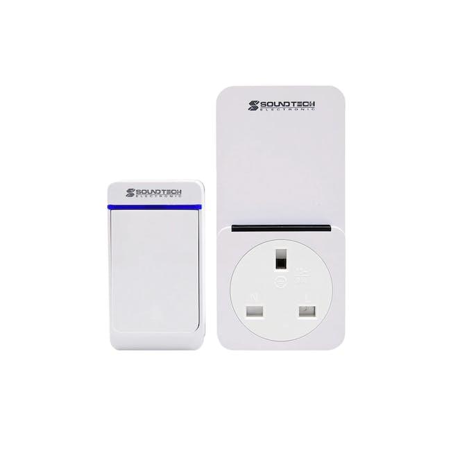SOUNDTEOH 2 IN 1 Wireless Digital Doorbell - 0