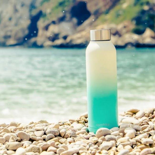 Quokka Stainless Steel Bottle Solid - Seashore 630ml - 1