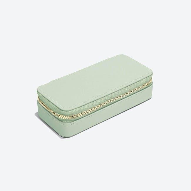 Medium Travel Jewellery Box - Sage - 2