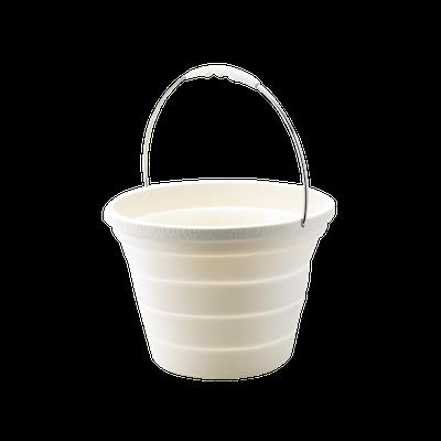 Foldable Bucket - Beige - Image 1