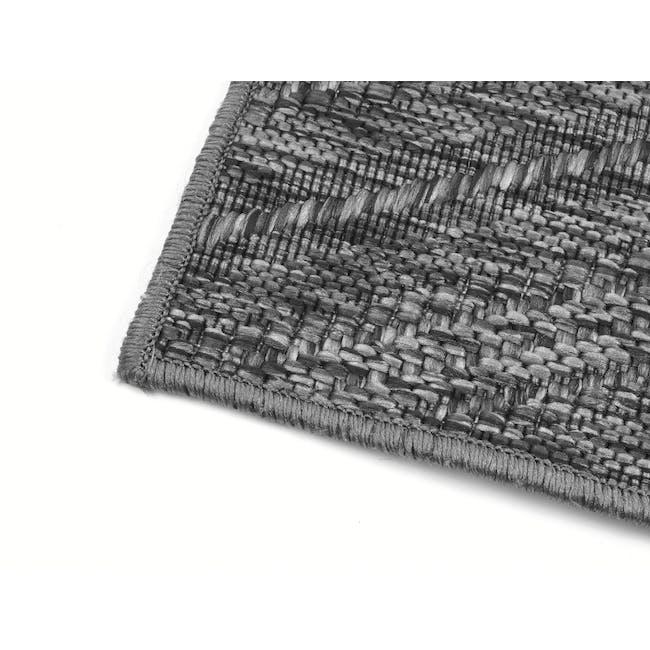 Timber Flatwoven Rug 2.9m x 2.0m - Dark Chevon - 3