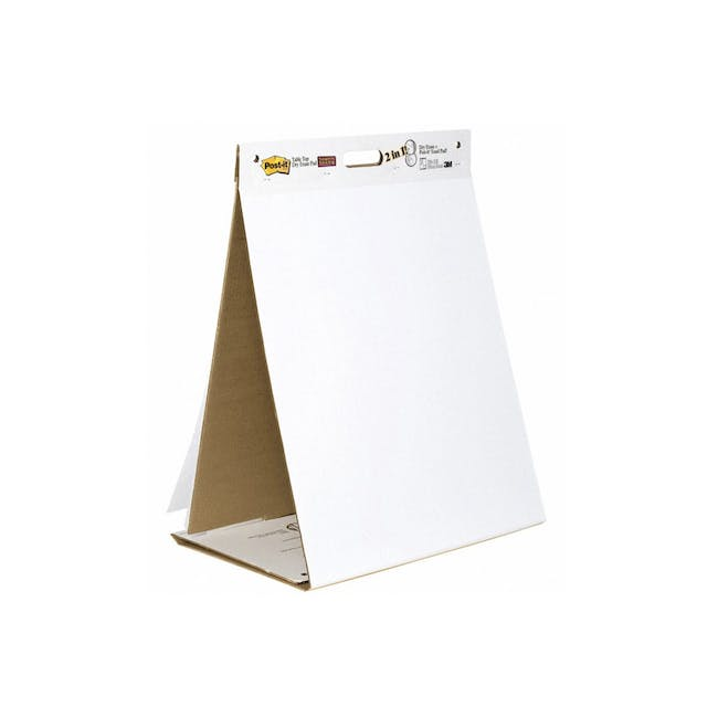 Post-it® Super Sticky Table Top Easel Pad with Dry Erase - 0