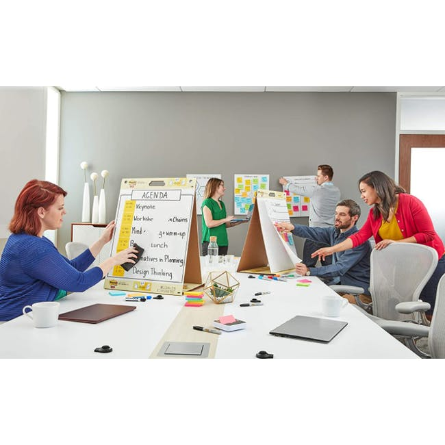 Post-it® Super Sticky Table Top Easel Pad with Dry Erase - 1