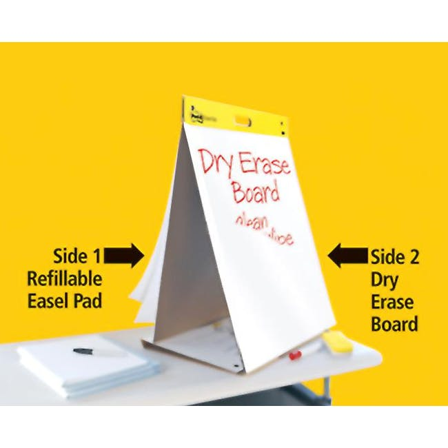 Post-it® Super Sticky Table Top Easel Pad with Dry Erase - 3
