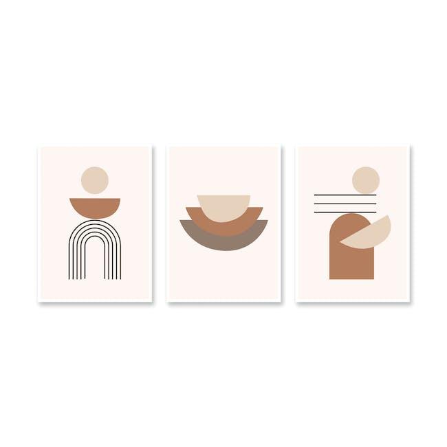 Borderless Graphic Art Print on Paper (2 Sizes) - Meditate - 2