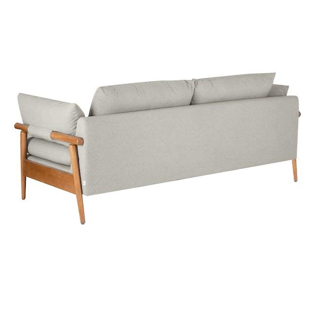 Astrid 3 Seater Sofa - Ivory - 4