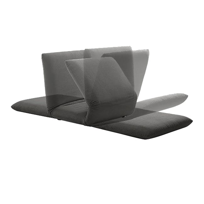 Ayla Sofa Bed - Graphite - 11