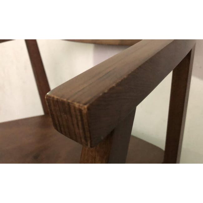 (As-is) Greta Chair - Cocoa - 4 - 7