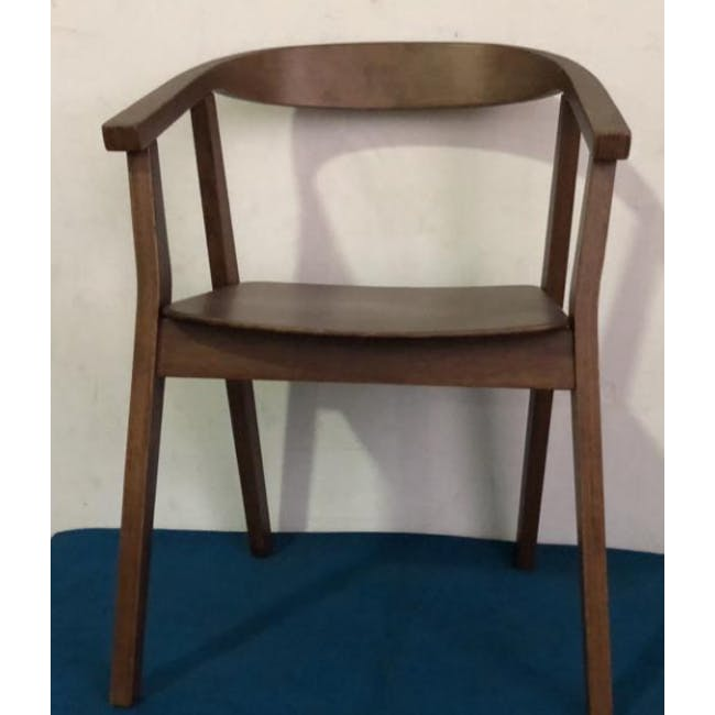 (As-is) Greta Chair - Cocoa - 4 - 1