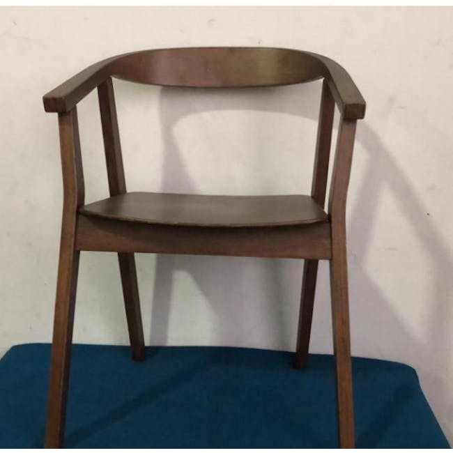 (As-is) Greta Chair - Cocoa - 4 - 2