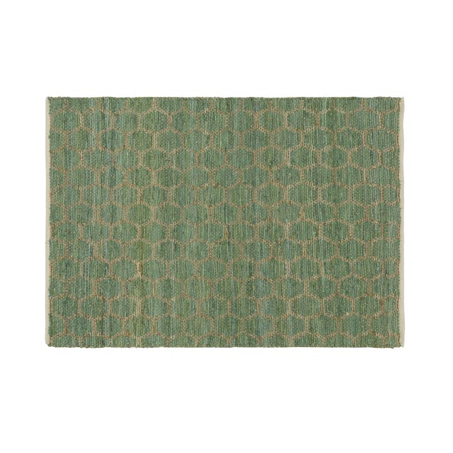 Summer Jute Rug 1.7m x 1.2m - Green - 0