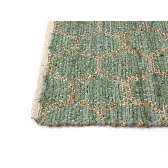 Summer Jute Rug 1.7m x 1.2m - Green - 3