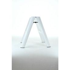Hasegawa 2 Step Aluminium Ladder – White