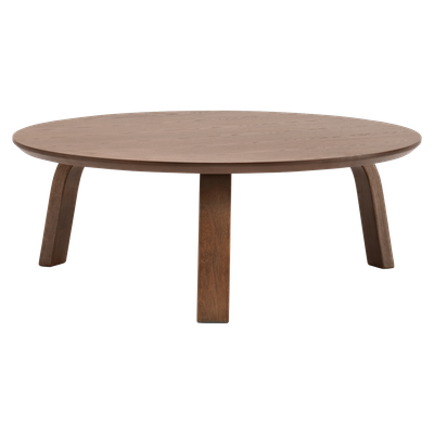 Nami Round Coffee Table - Cocoa - Image 2